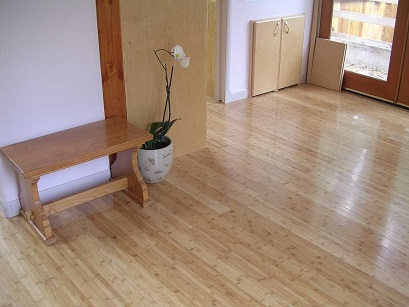 Parquet Bamboo Orizzontale Naturale